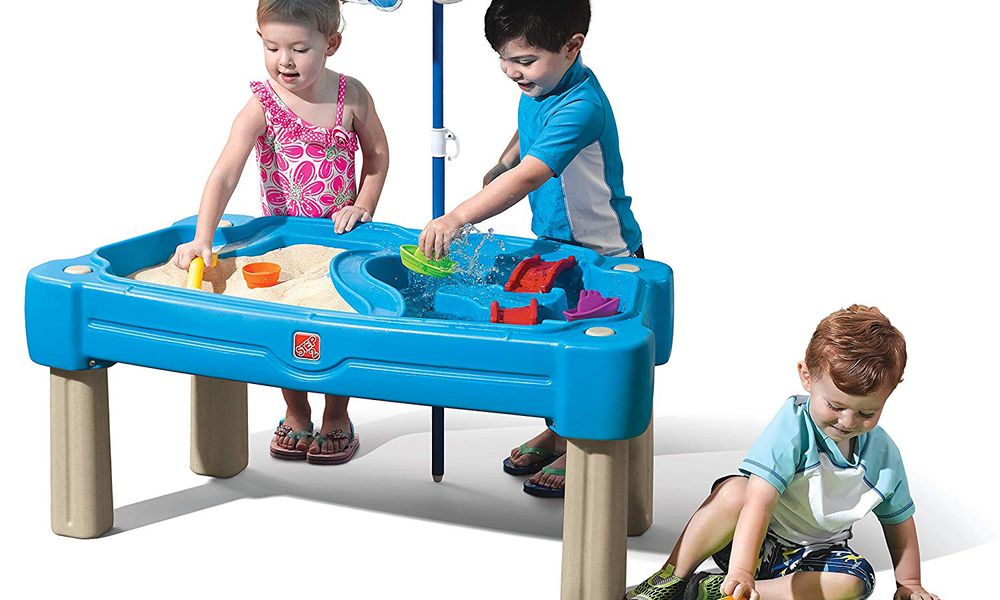 Step2 Cascading Cove Sand and Water Table