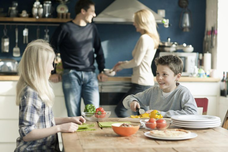 Create a list of household rules for everyone in the family to follow.