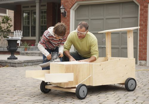 Woodworking Projects Parents And Teens Can Do Together