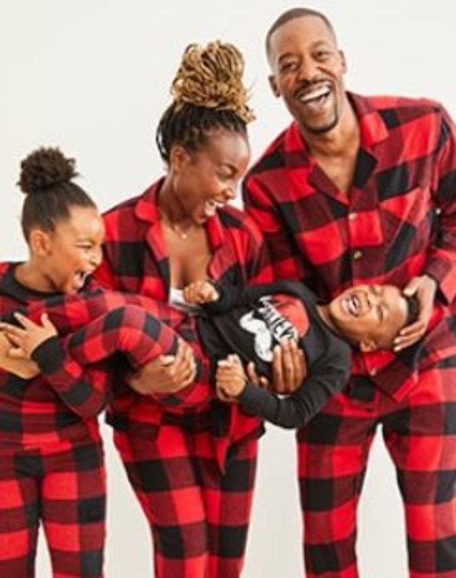 Old Navy Matching Holiday Pajamas