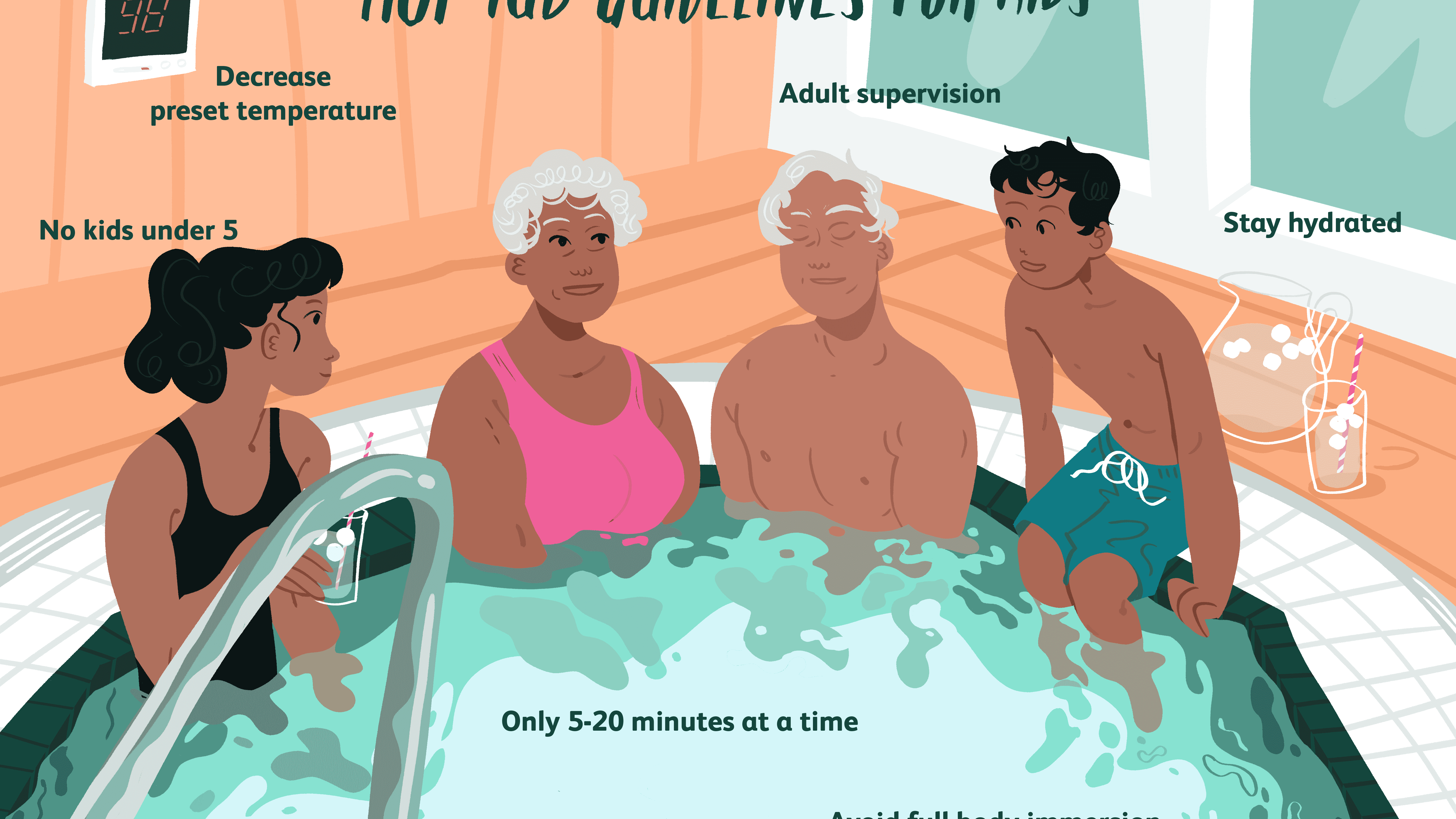Kids In Hot Tubs Important Safety Rules