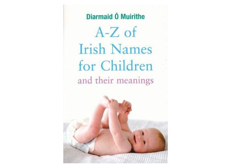A-Z of Irish Baby Names Book