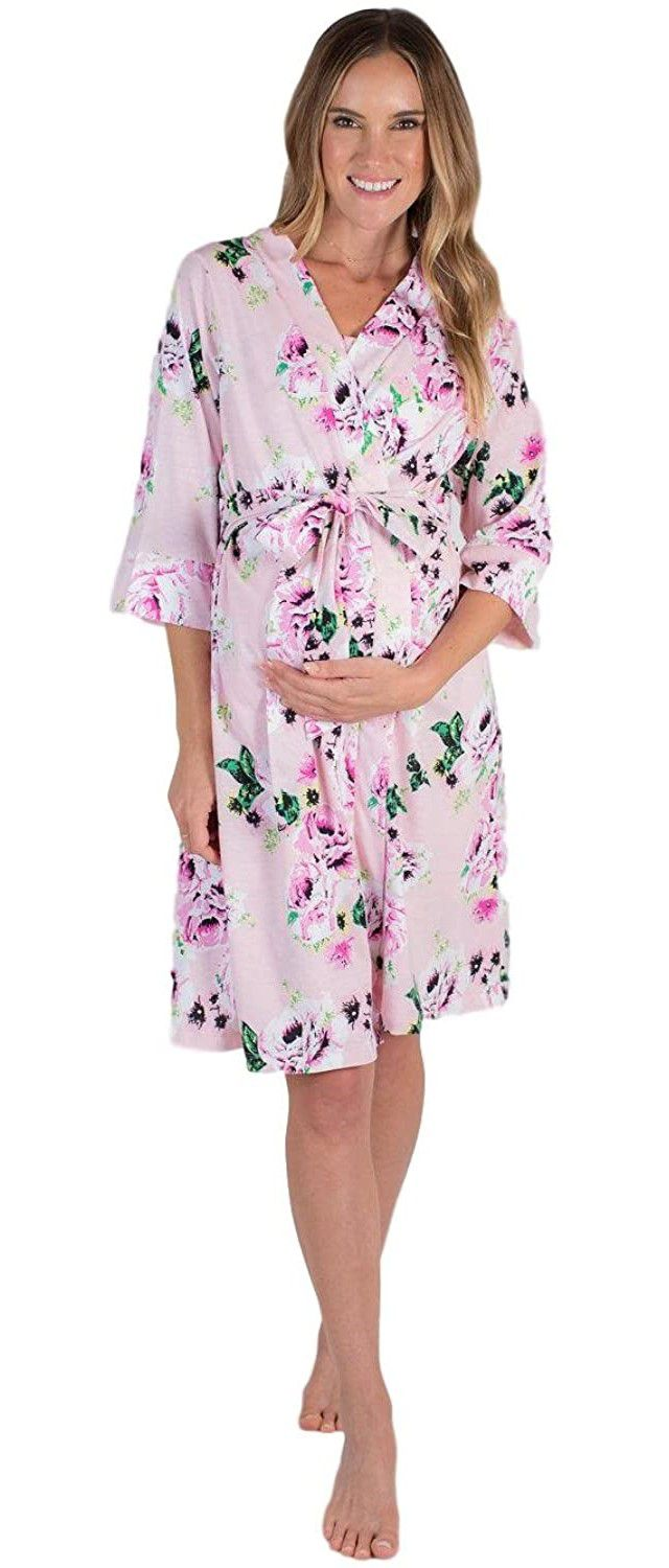 Baby Be Mine Maternity Labor Delivery Nursing Robe