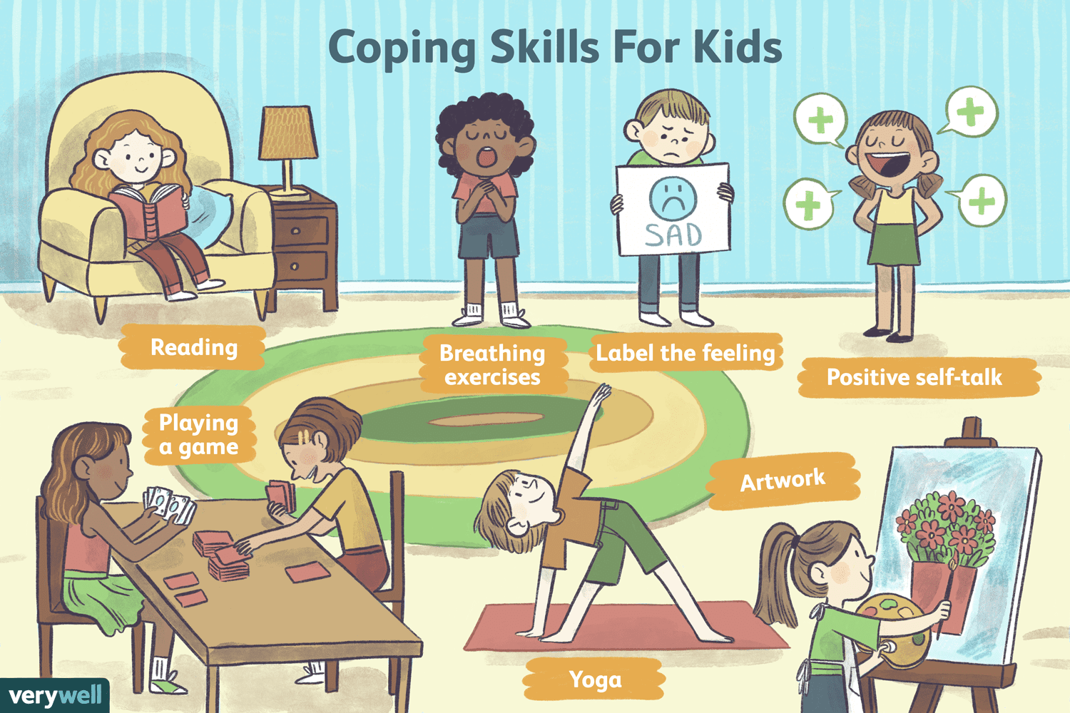 Teaching Teenagers To Cope With Social >> 15 Coping Skills For Kids