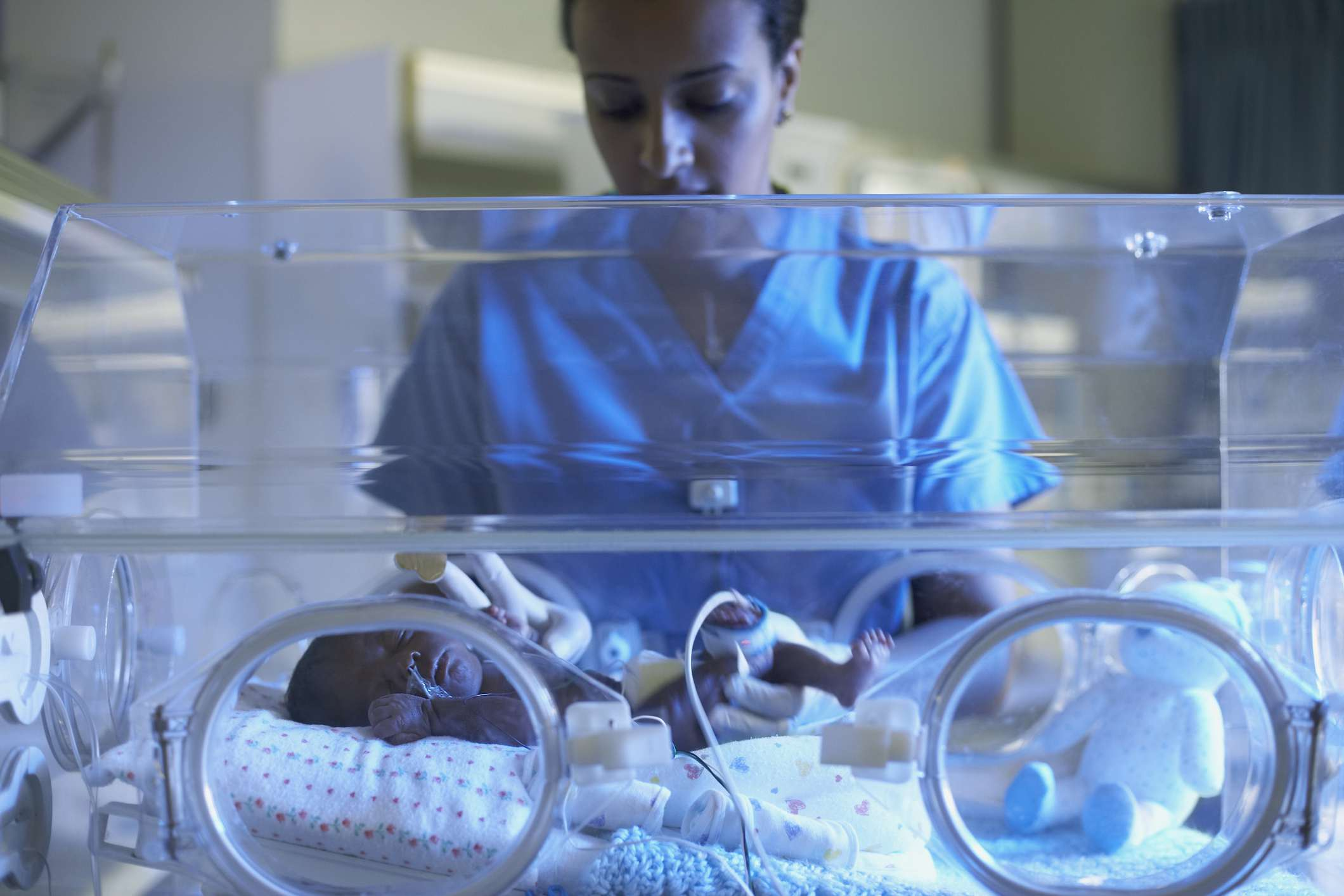 NICU Krankenschwester