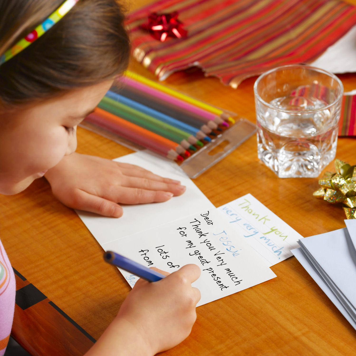 Getting Your Child to Write Thank You Notes