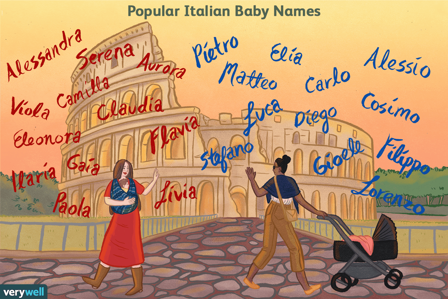 Italian Boy Name: 100 Italian Baby Names: Meanings & Origins