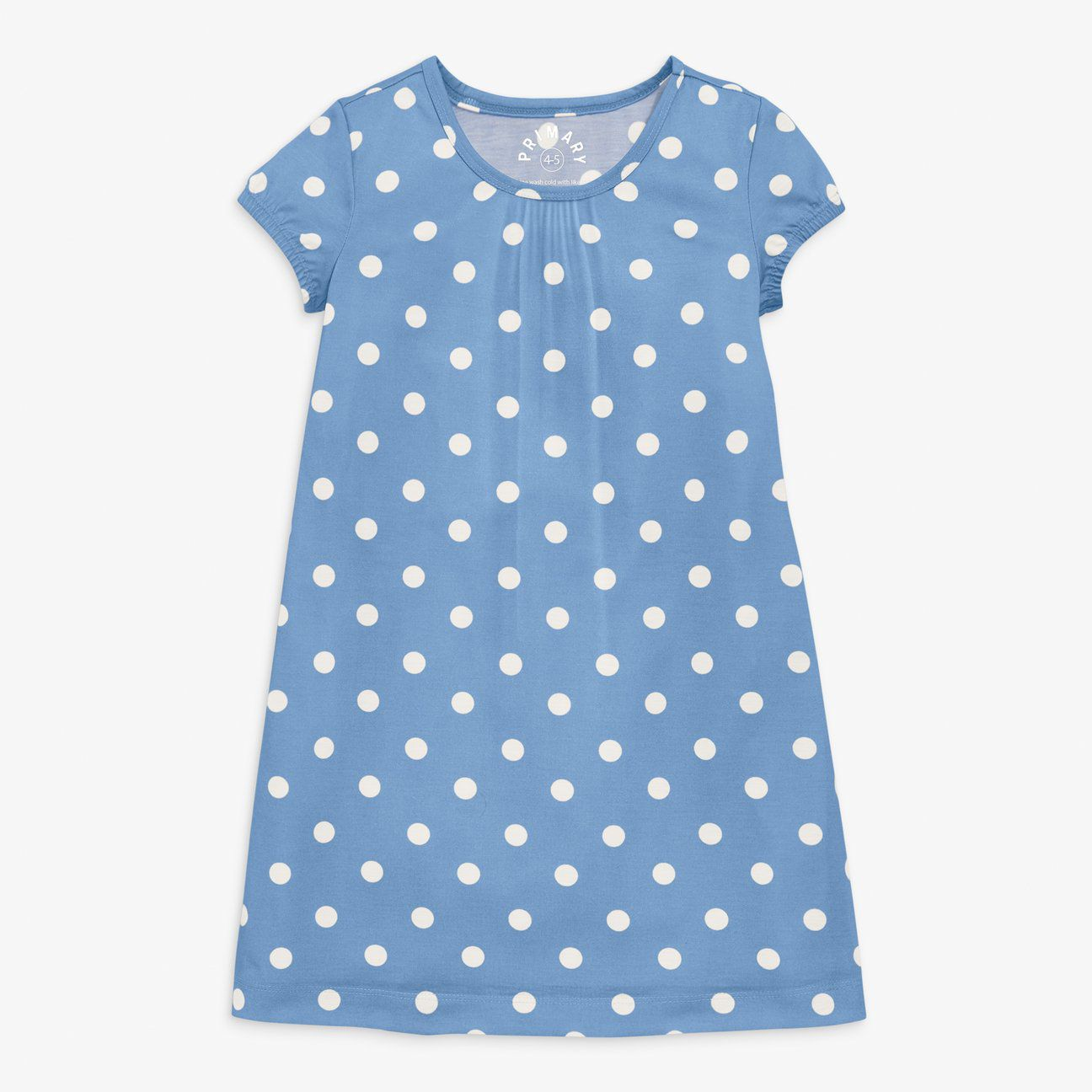 Nightgown in dot