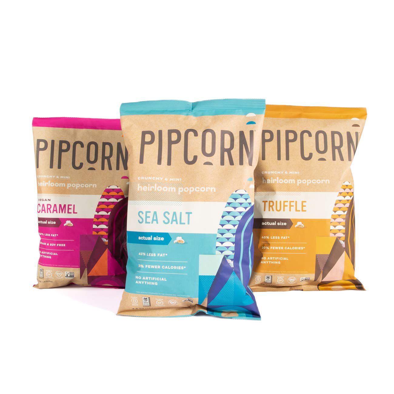 Pipcorn Heirloom Mini Popcorn Variety Pack