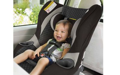 Use a 5-Point Car Seat Harness