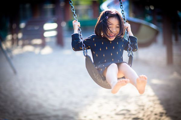 Outdoor play improves happiness in kids.
