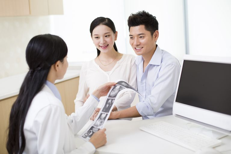 Couple counseling with doctor