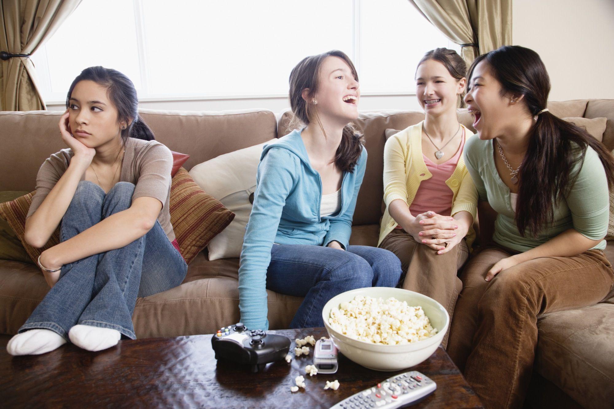 Проблемы подростков в картинках