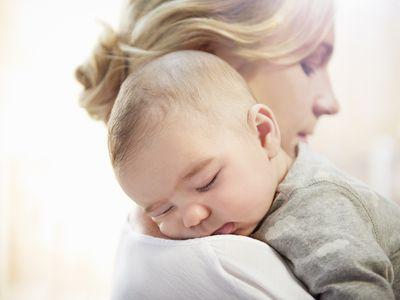 mom and newborn
