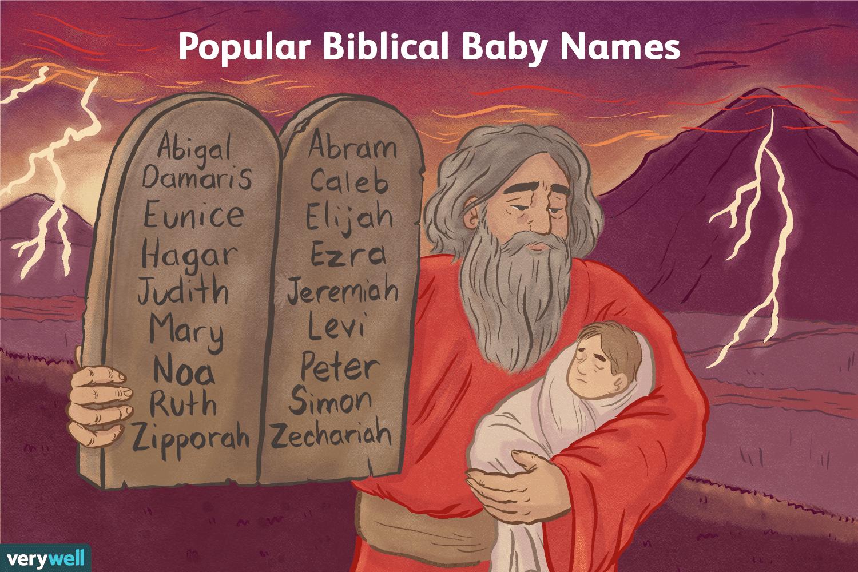 100 Biblical Baby Names Meanings Origins