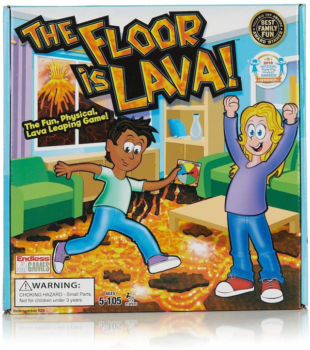 The Floor is Lava Interactive Game for Kids