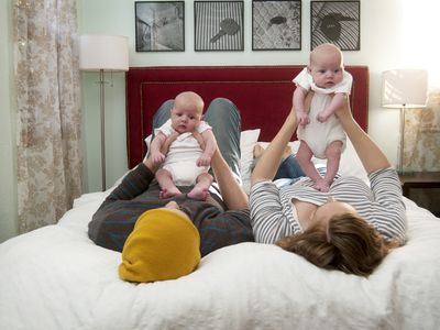 Developing a sleeping schedule with twins