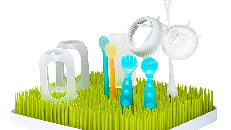 Baby Bottle Drying Rack Dryer Milk Nipple Glass Sterilise Teats Cups