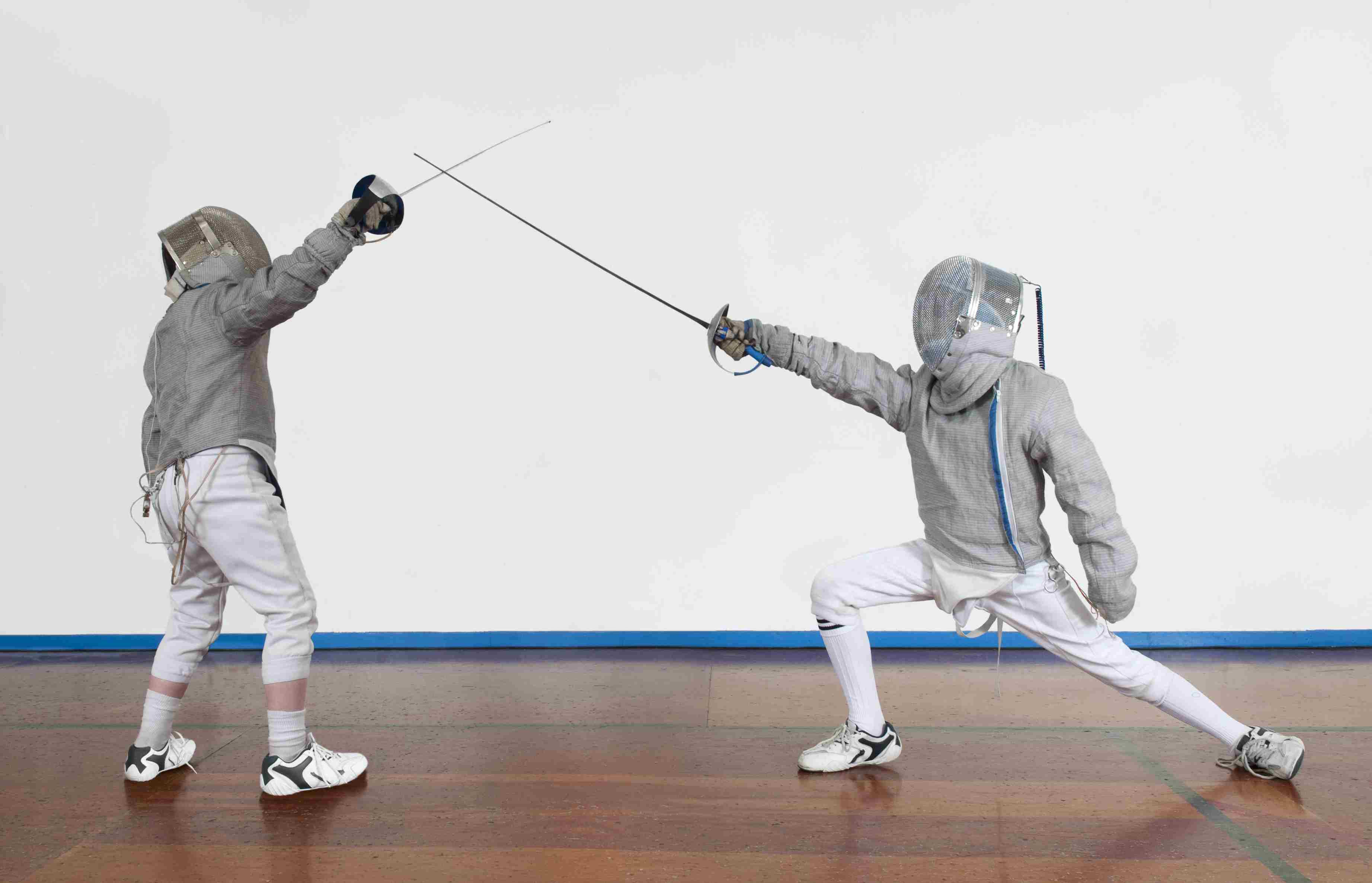 Young Fencers Bouting