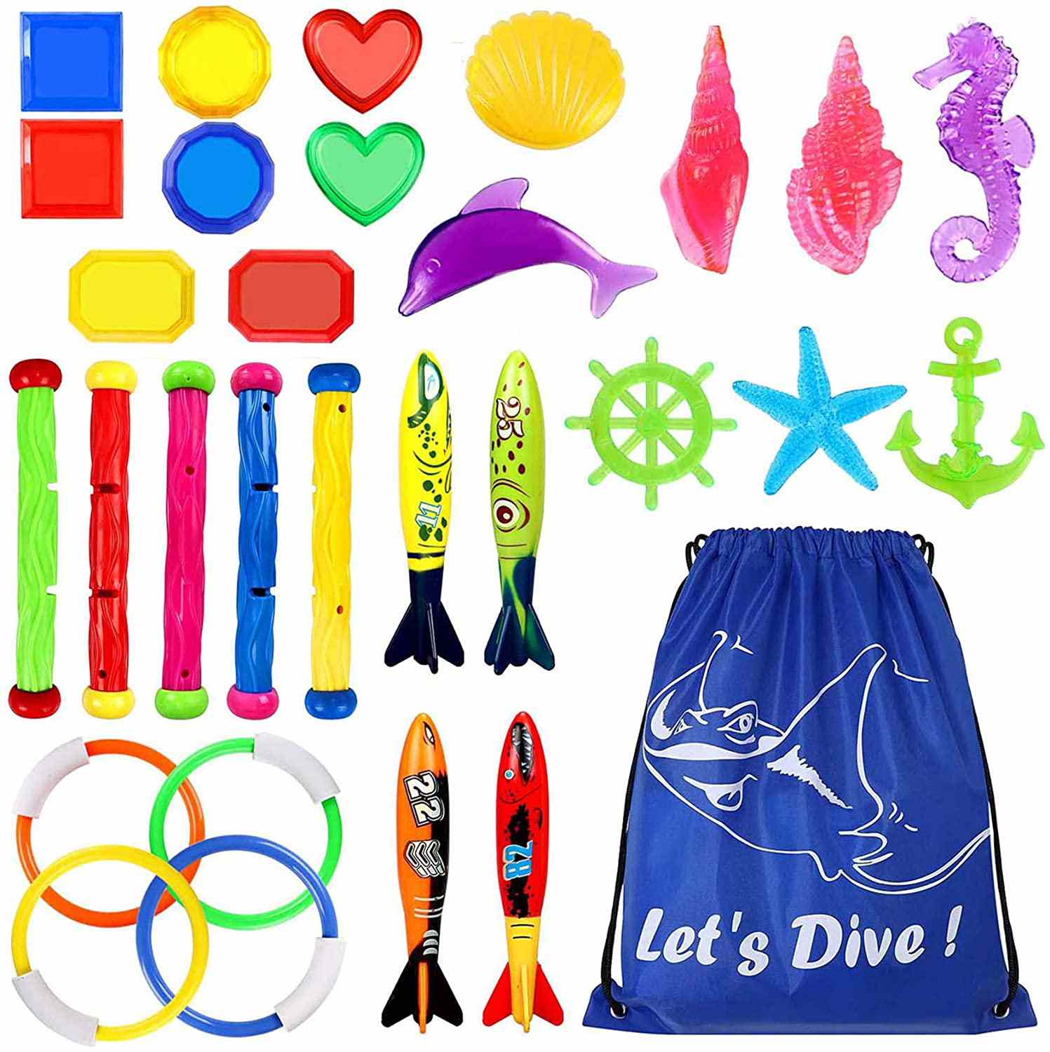 Underwater Swimming Diving Pool Toy