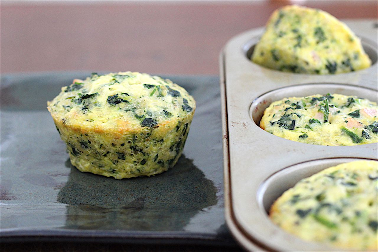 Low-FODMAP quiches