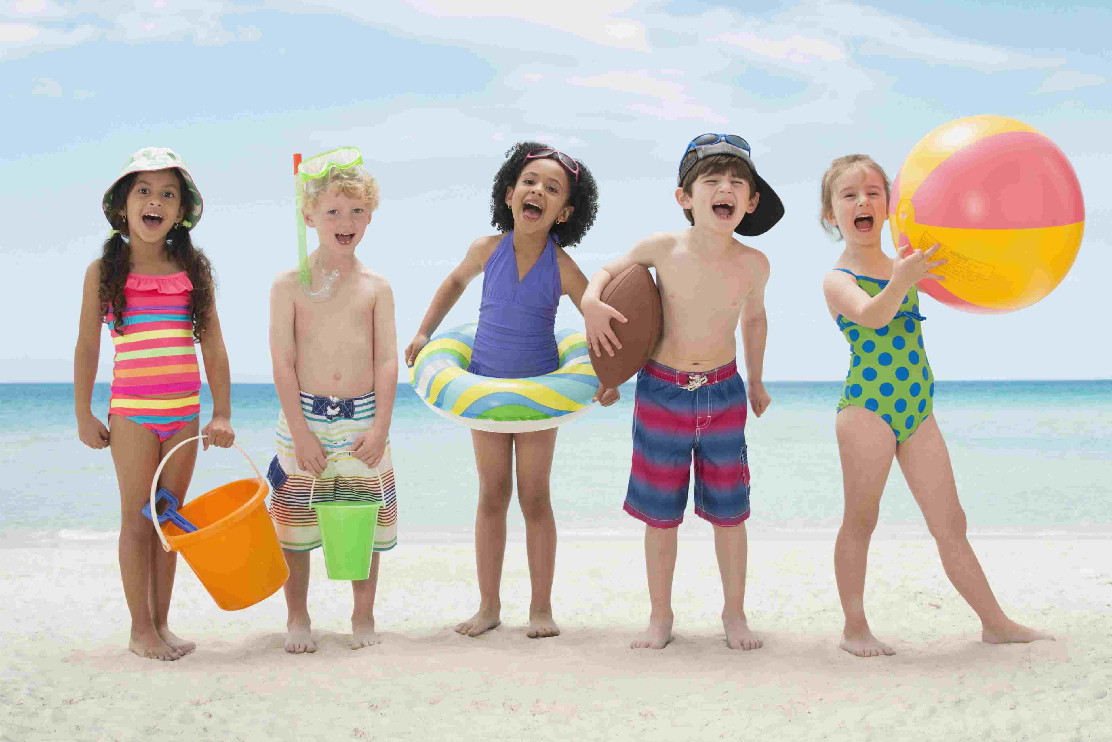 Beach games are super fun outdoor party games.