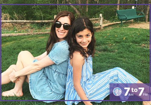 Katya Libin, Hey Mama co-founder, and her daughter