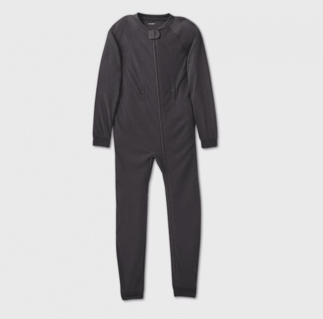 Cat & Jack Adaptive Kids Abdominal Access Pajama Jumpsuit