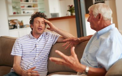 Dealing with political disagreements within a family can be difficult.