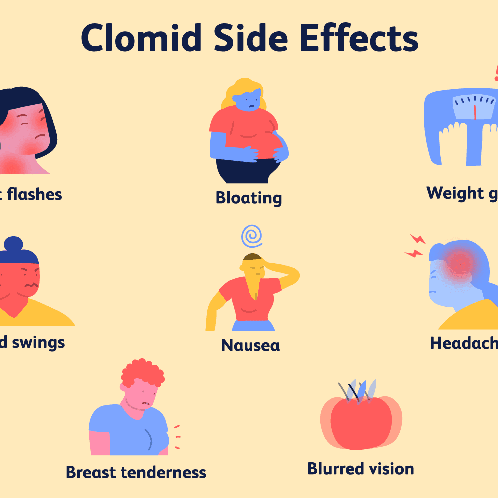 should i change my diet when taking clomid?