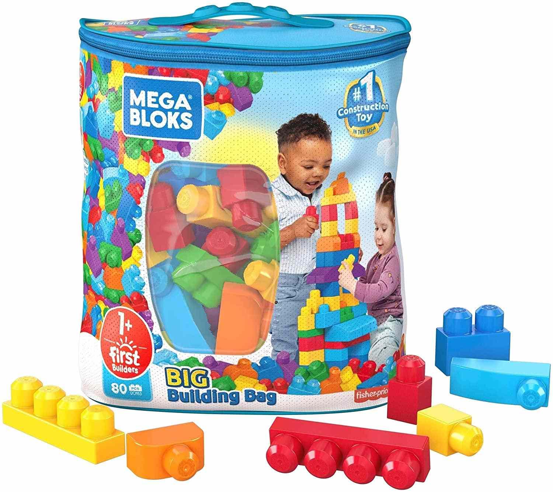 Mega Bloks First Builders Big Building Bag with Big Building Blocks