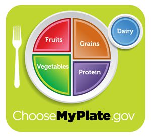The new MyPlate logo from the USDA is supposed to help people build a healthy plate of food.