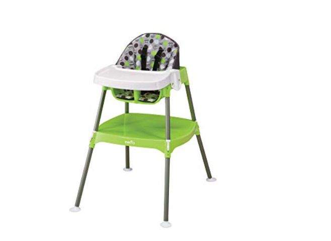Green High Chairs Intelligent Upgraded Brand New Leather Baby High Chair Baby