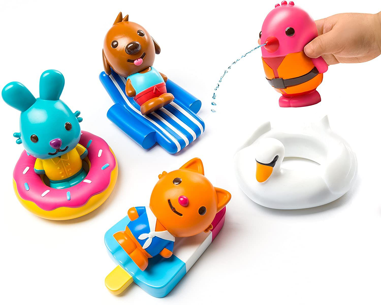 Sago Mini Easy Clean Bath Squirters & Floaties
