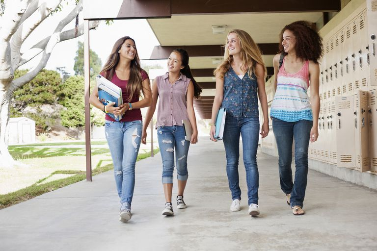 Moving to a new school can be difficult for teens in high school.