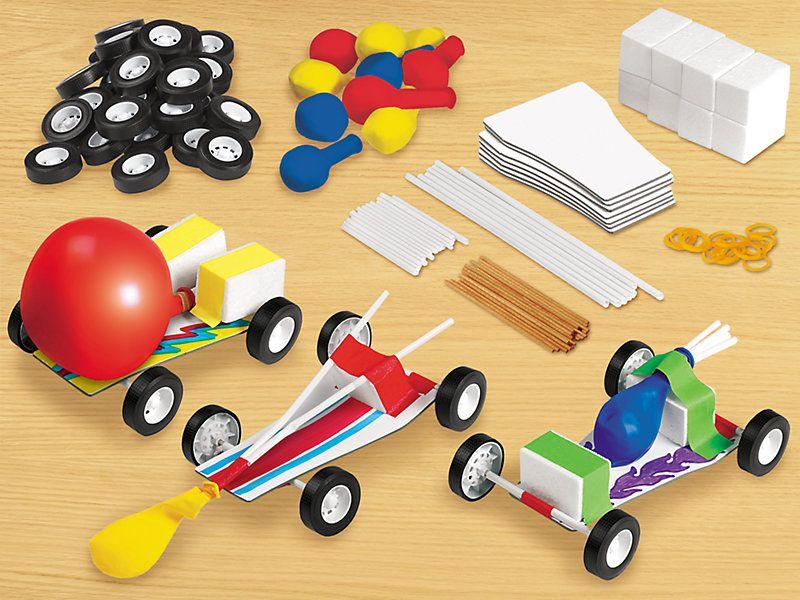 Design & Play STEAM Cars Kit