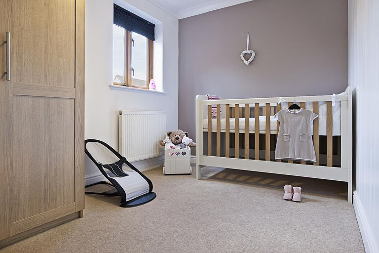 Nursery with Baby Gear