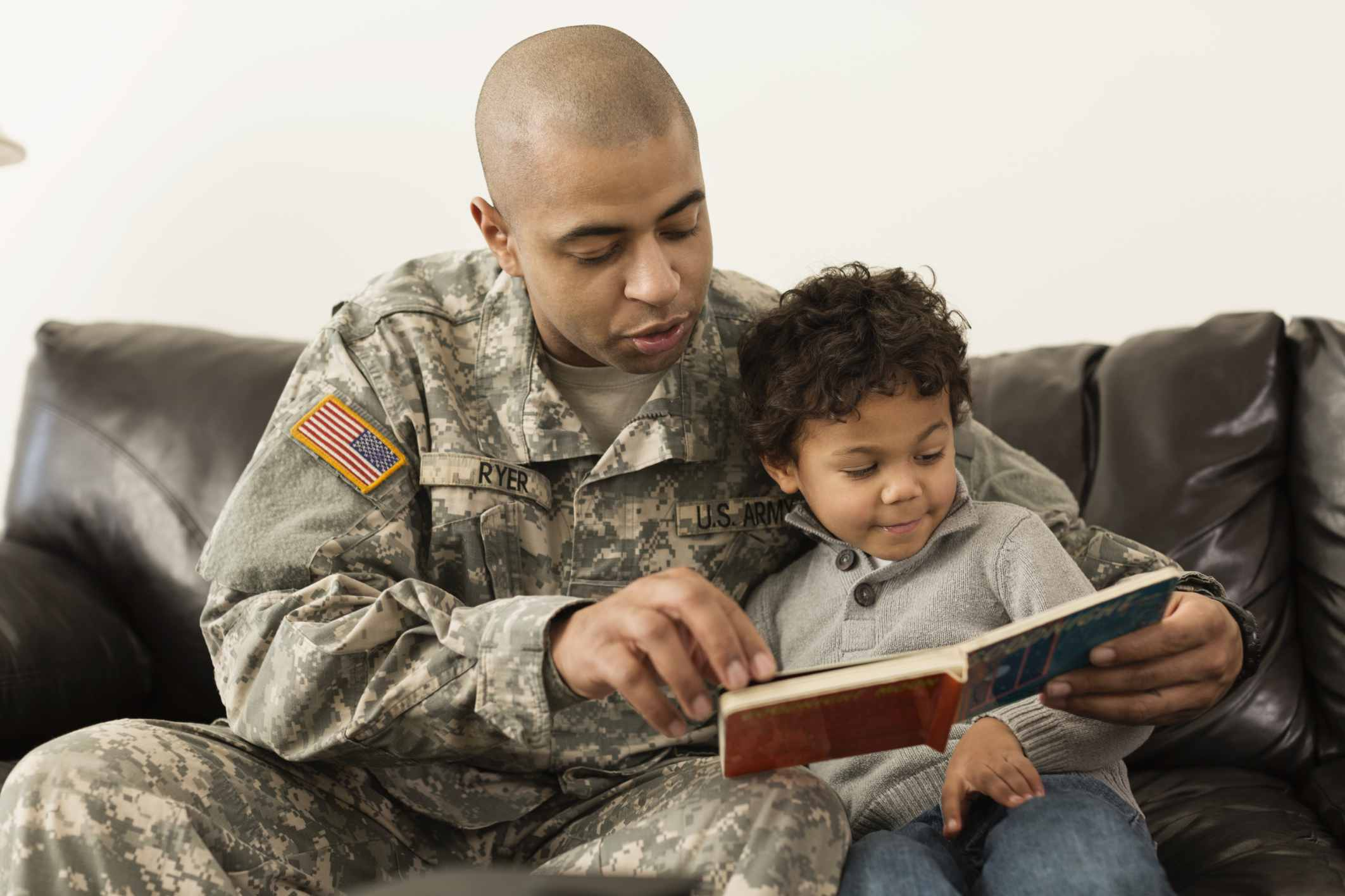 Books Can Help Children of Deployed Parents Cope