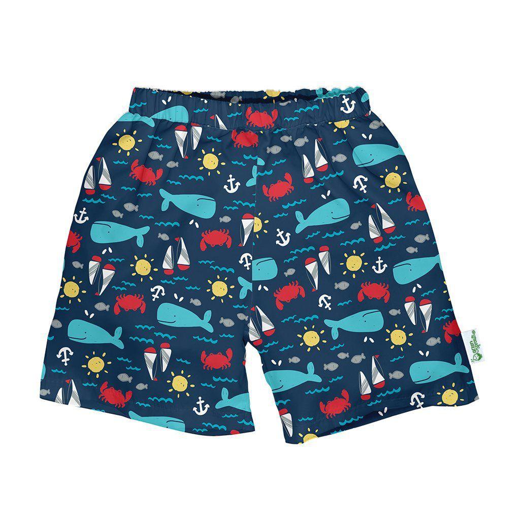 swim diaper trunks