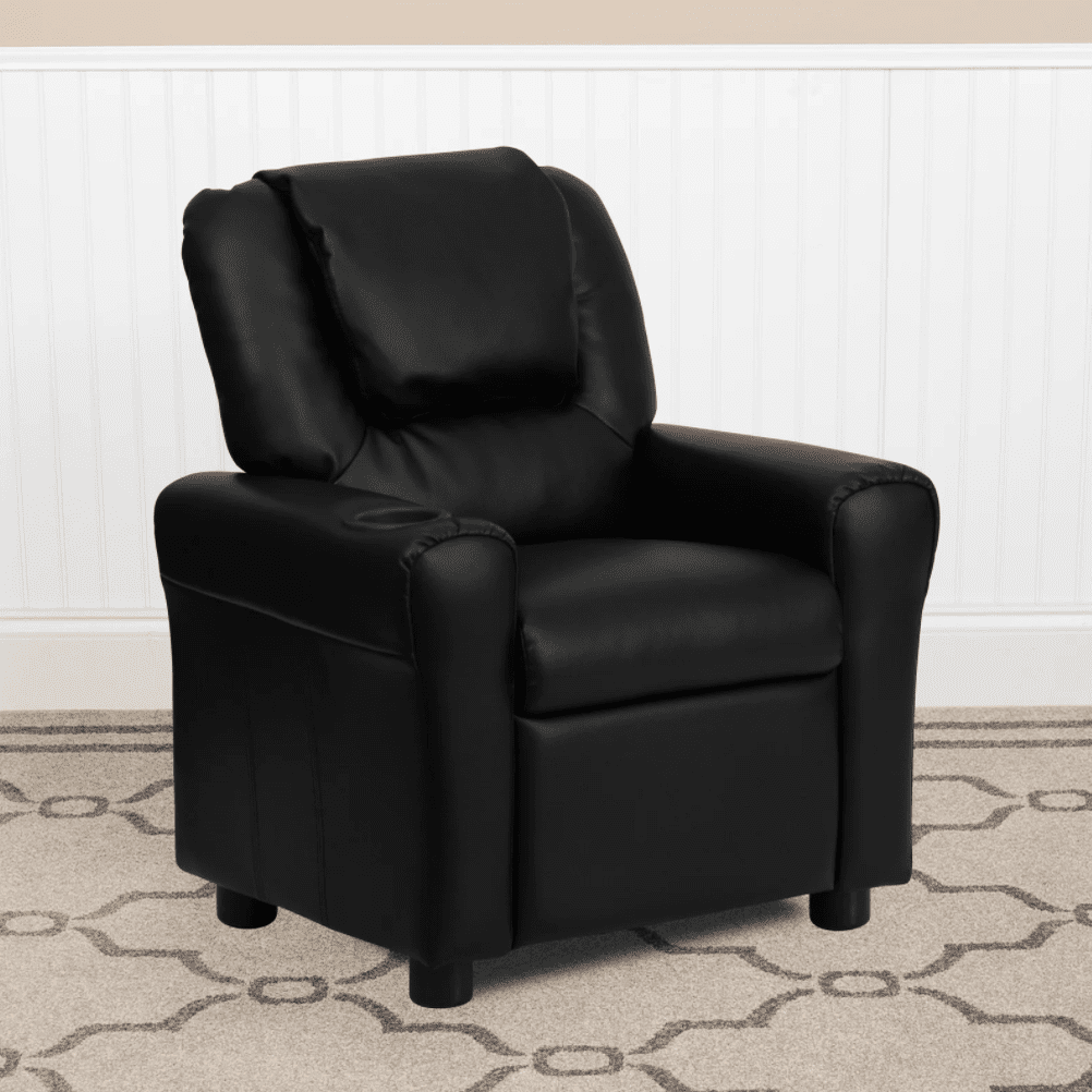 Isabelle and Max Forman Kids Recliner with Cup Holder