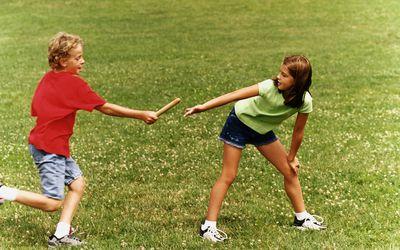 kids relay race