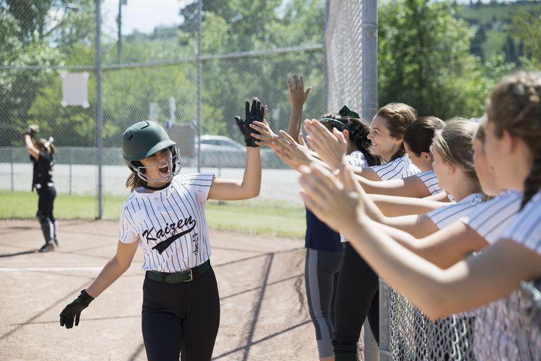 Start a sport - middle-school girls' softball team