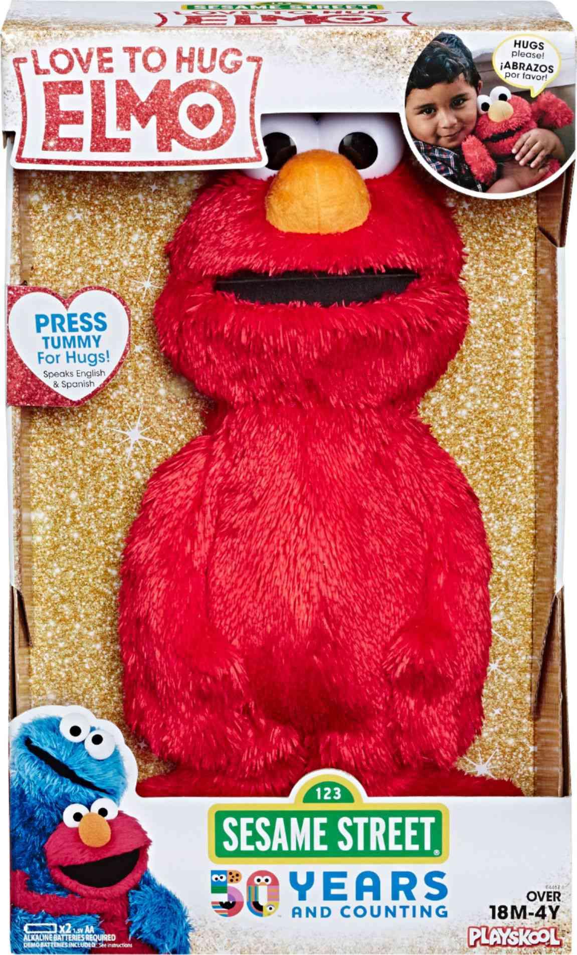 Sesame Street Love to Hug Elmo Plush Toy