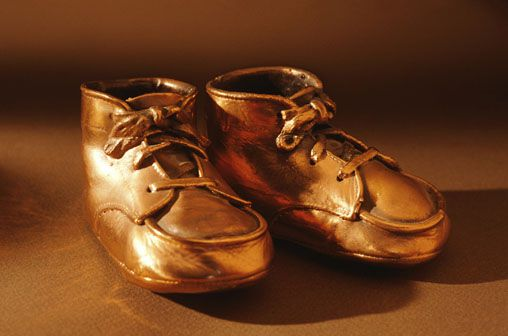These classic baby shoes that often end up being bronzed aren't as popular as they used to be.