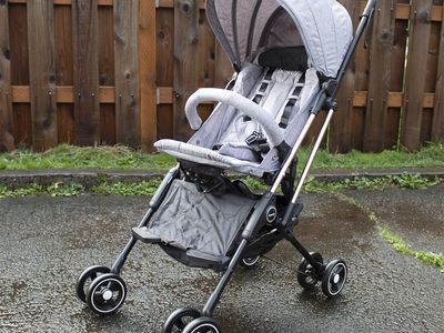 Besrey Airplane Capsule Lightweight Baby Stroller