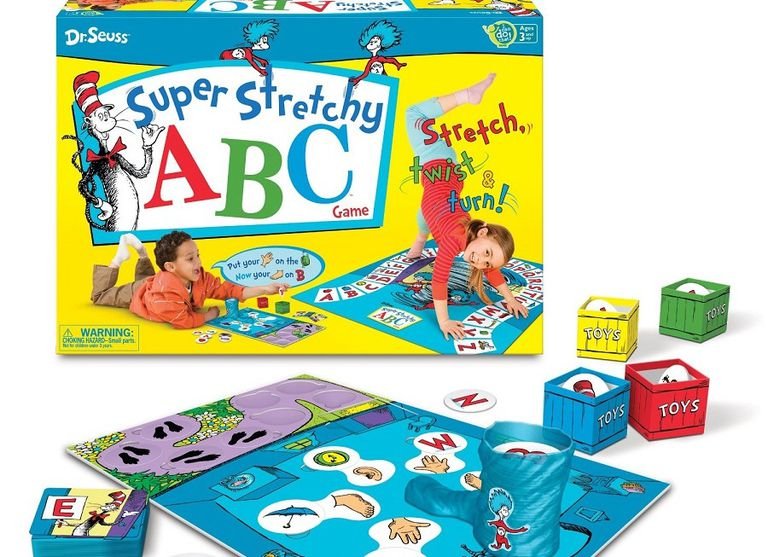 Dr. Seuss Super Stretchy ABC game for kids