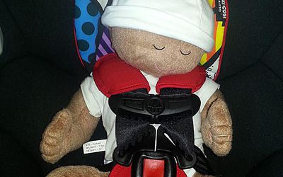 How To Buckle Itty Bitty Newborn Into An Infant Car Seat Properly