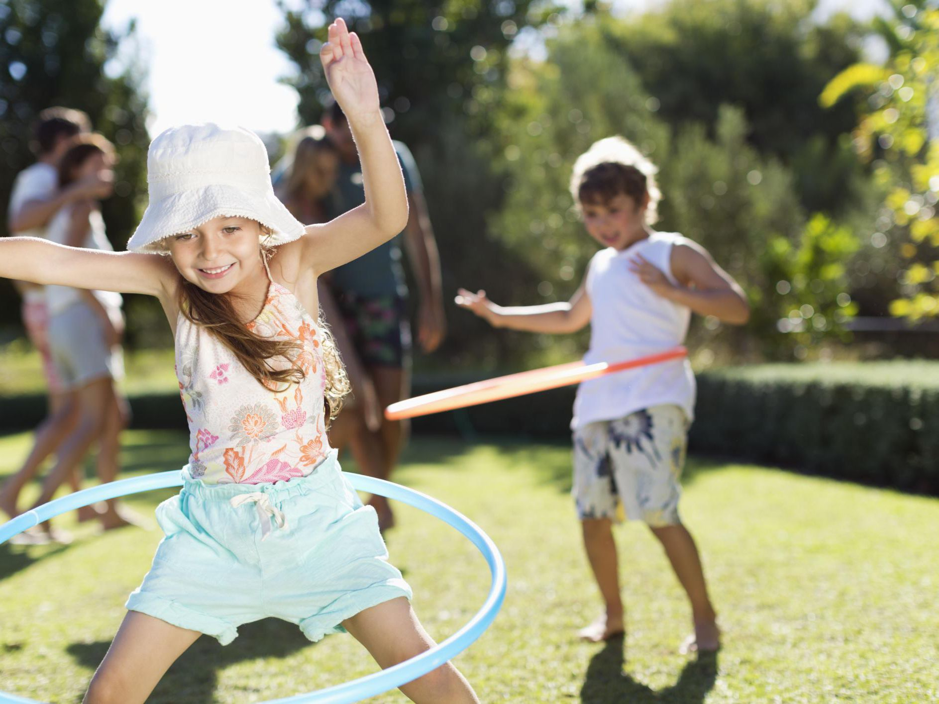 Hula Hoop Games and Activities for Kids
