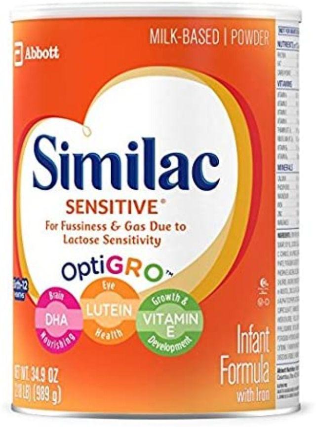 Similac Sensitive Infant Formula with Iron Powder