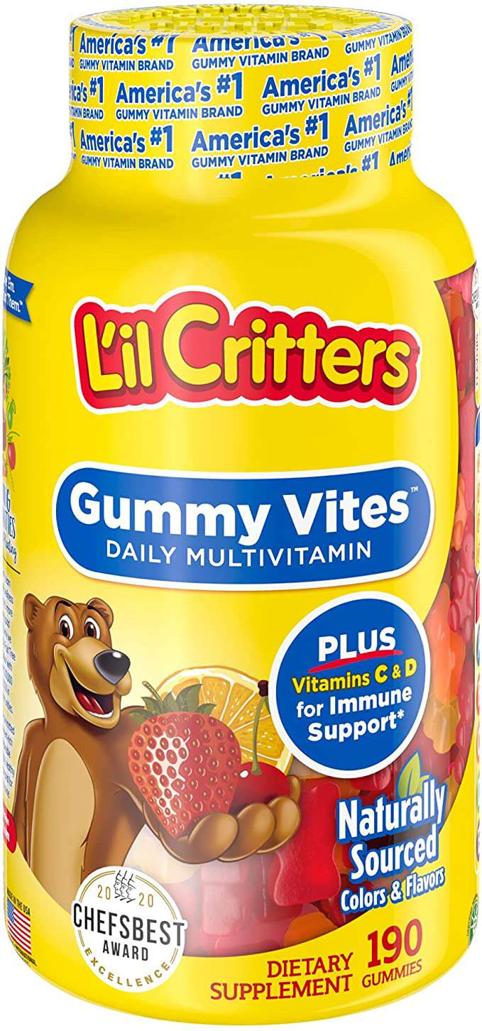 Lil Critters Gummy Vites Daily Multivitamin